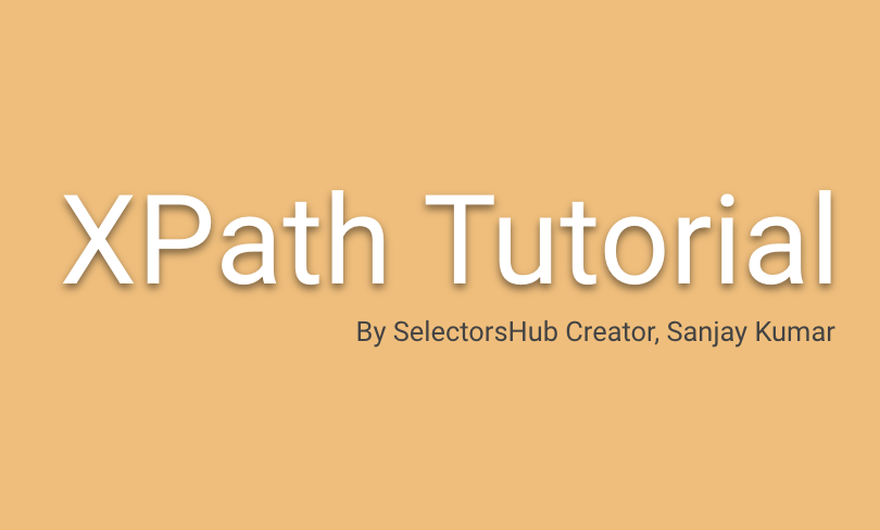 Be an XPath expert just in an hour